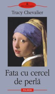fata cu cercei de perla carte